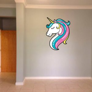 Unicorn Head Wall Art - Print N Design